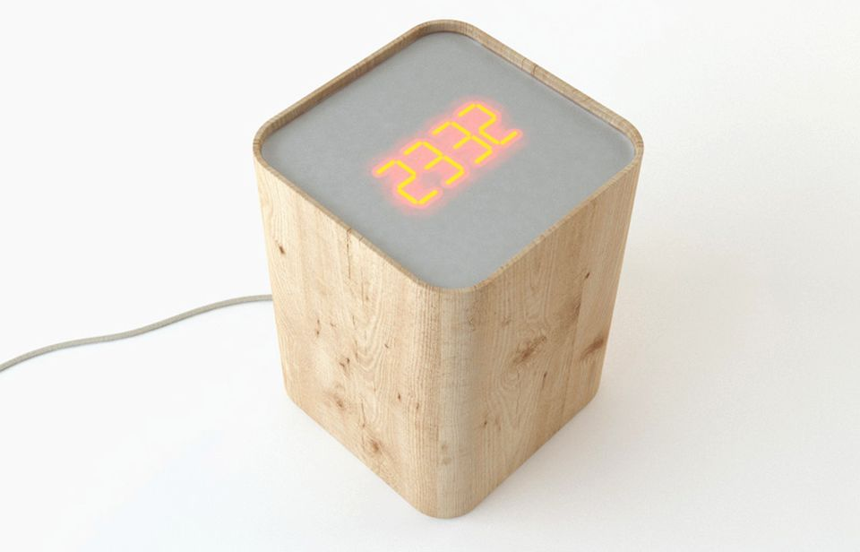 Clock Side Table by Soriano Blanco
