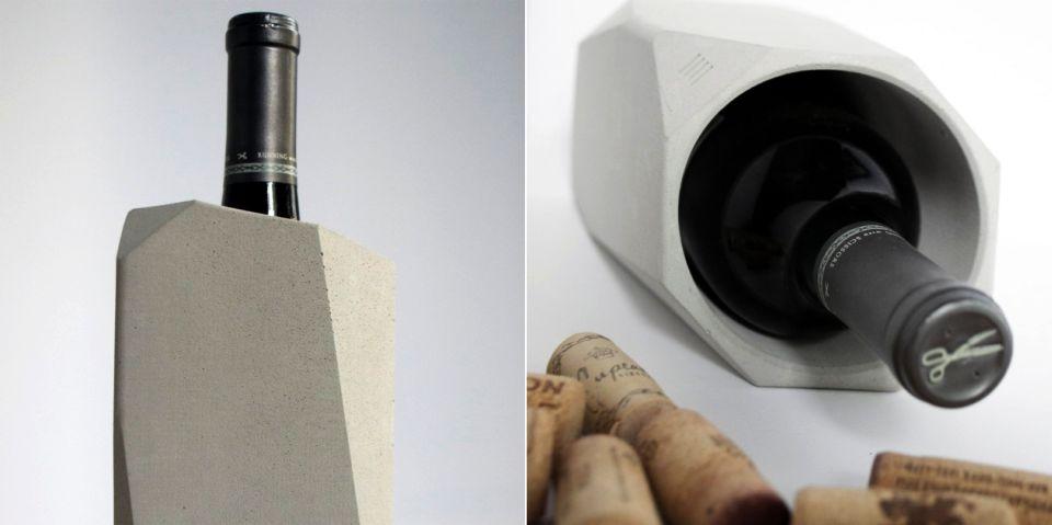 Corvi Concrete Wine Cooler by Francisco Corvi