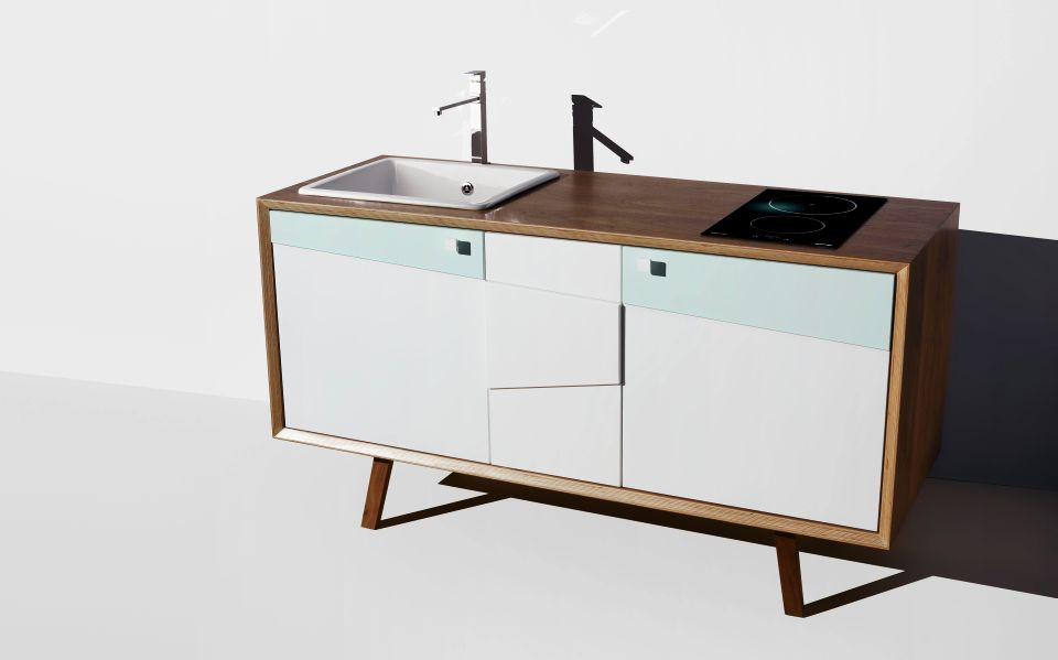 Free-standing Kitchen by Piotr Domanski
