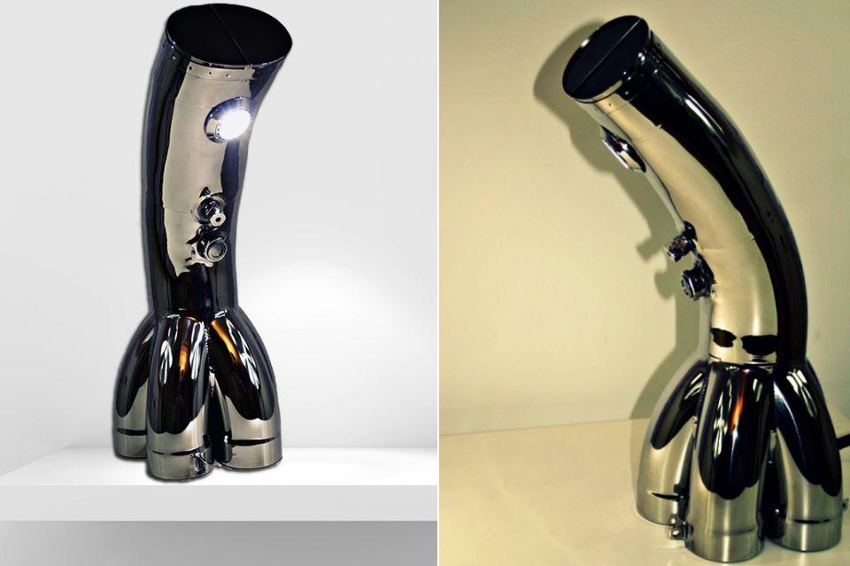 Honda F1 Exhaust Tailpipe Lamp
