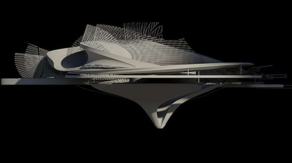 Hydroelectric Tidal House by Margot Krasojevic