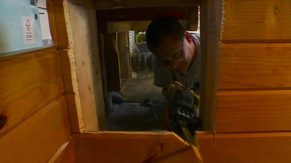Man Builds Indoor Playhouse for his Cats