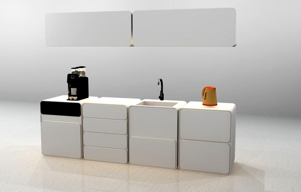Modular Kitchenette Set by Stephanie Nguyen
