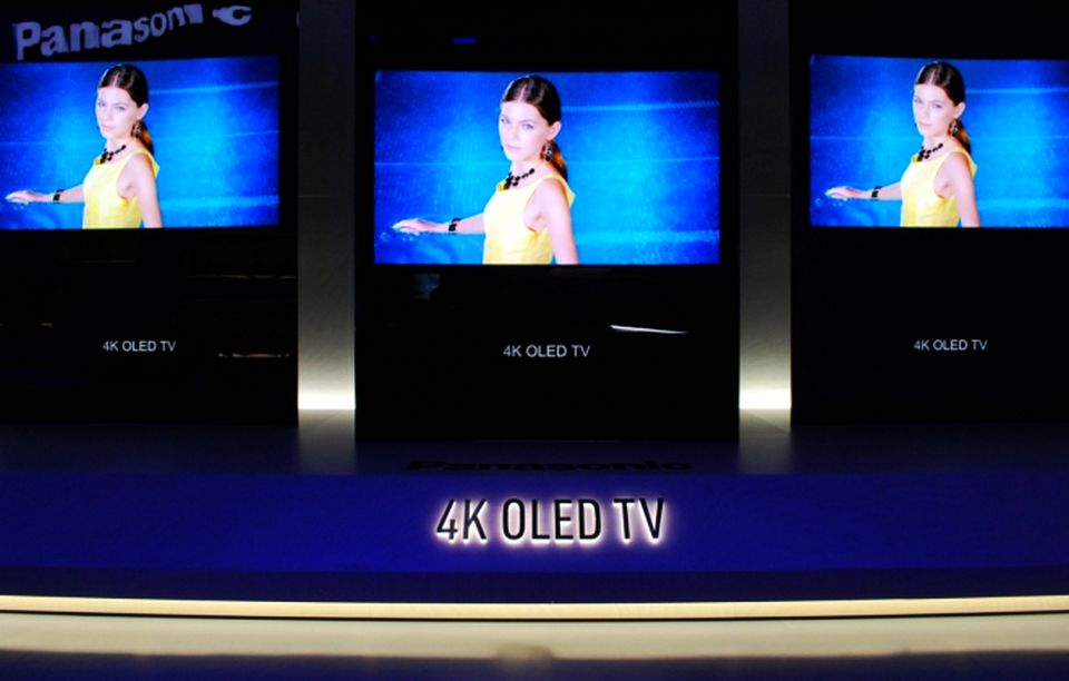 Panasonic 65-inch 4K OLED TV