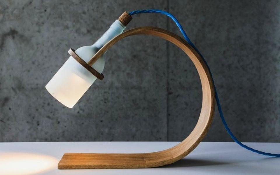 Quercus Desk Lamp by Max Ashford
