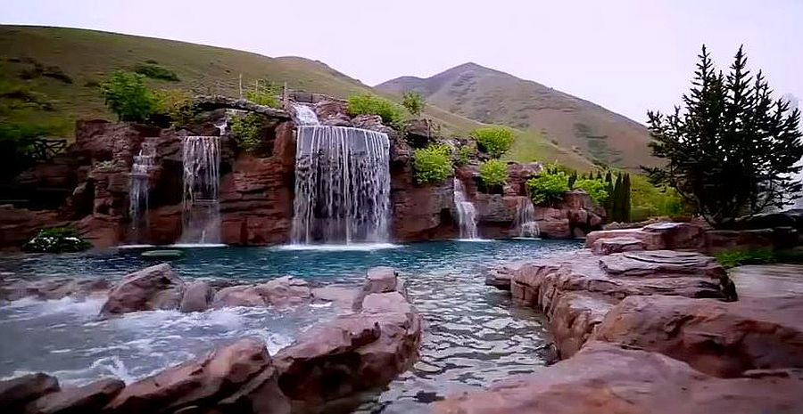 The Mountain - $2 million natural swimming pool