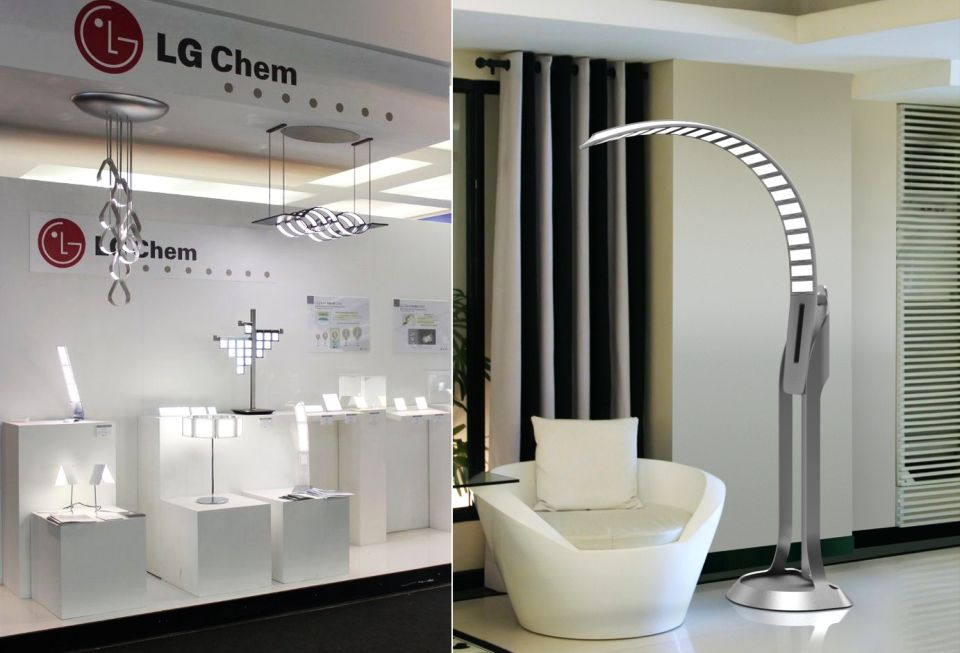 World's first high-efficacy OLED light panels by LG Chem