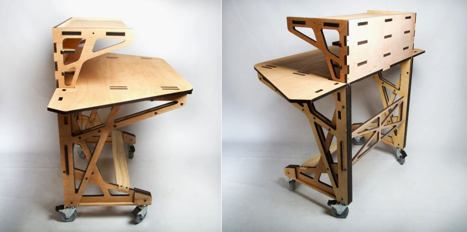 3D-Manufacturing Desk by Peter Borges