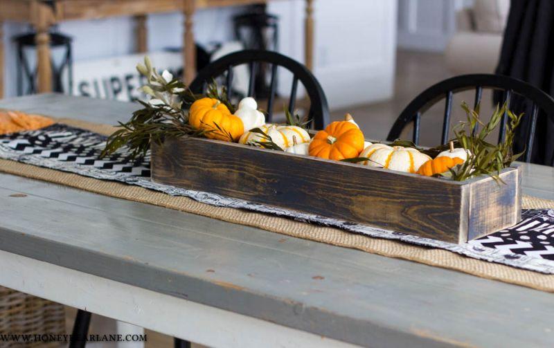 Add a pumpkin patch in living room