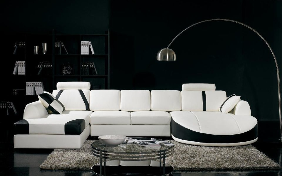Add classic punch to home décor with black and white shades