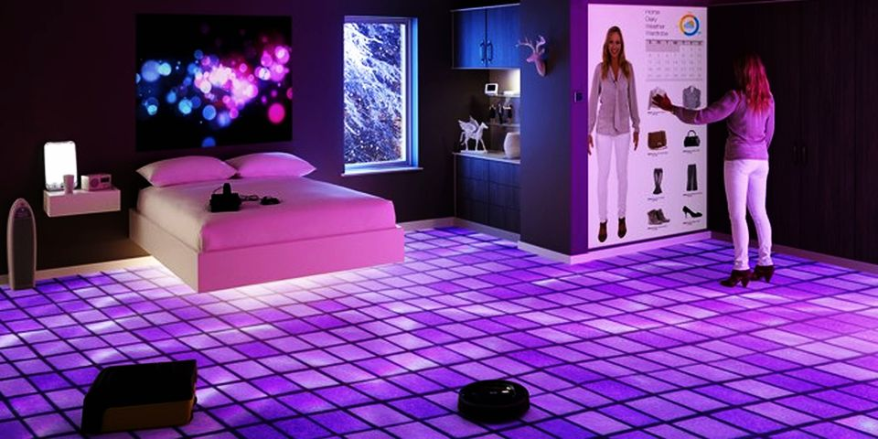Bedroom of the future by Betta Living