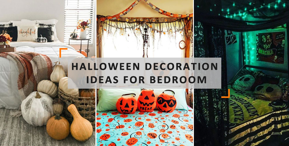bedroom halloween decoration ideas