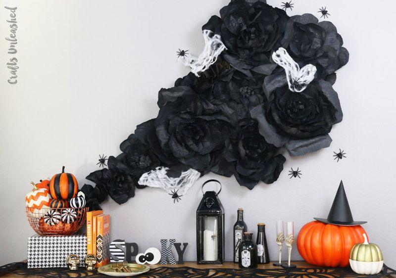 Halloween bedroom wall decoration ideas