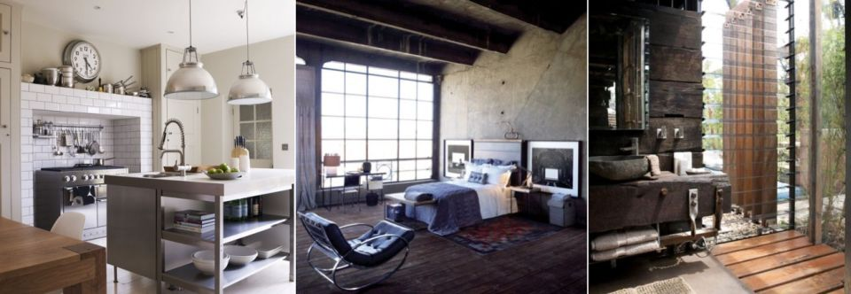 How to bestow industrial style upon your home