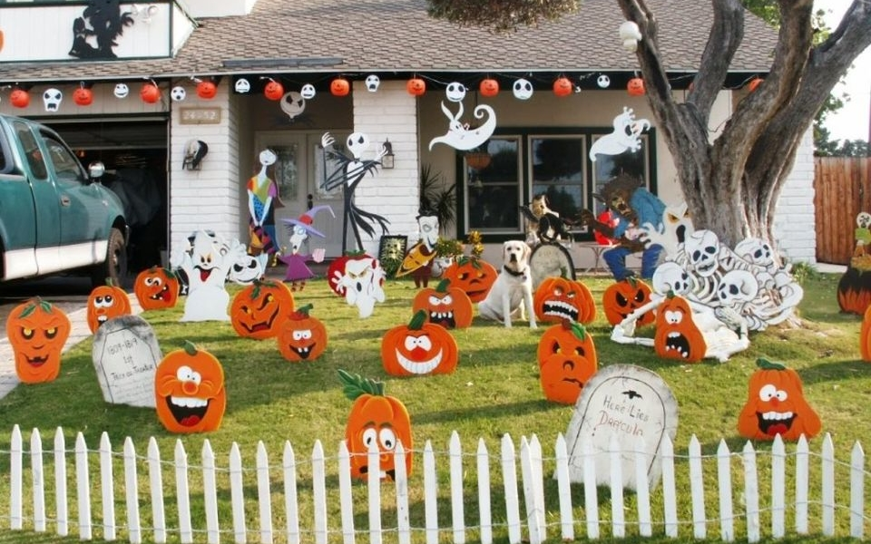 Ideas to decorate your yard this Halloween
