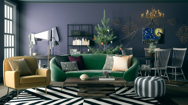 Induce some vibrant colors into your living room
