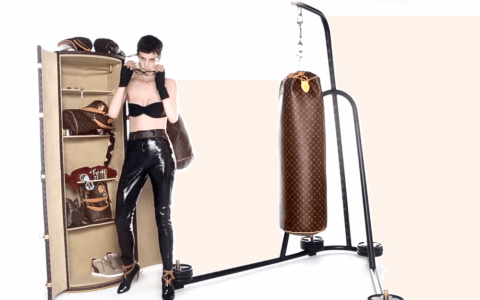 Karl Lagerfeld designed $175,000 Punching Bag for Louis Vuitton