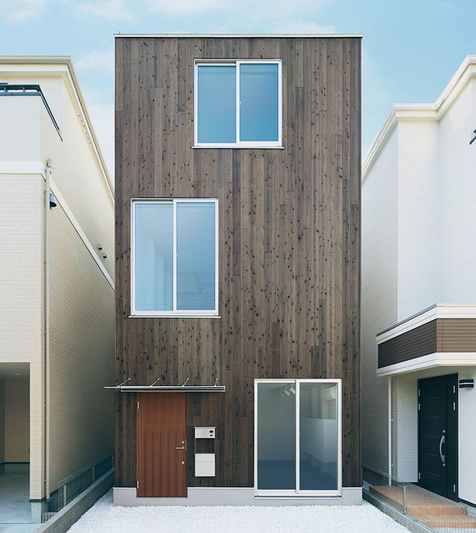 Muji Designs Vertical House