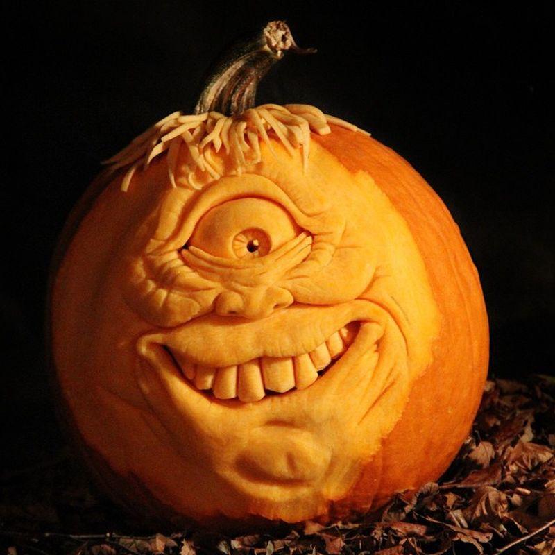 Pumpkin Carvings by Michael Brown