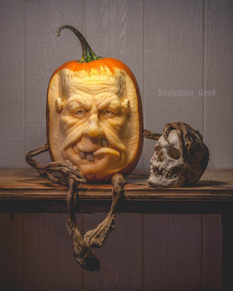 15+ Artistic Jack-o'-Lanterns by Pro Pumpkin Carving Artists