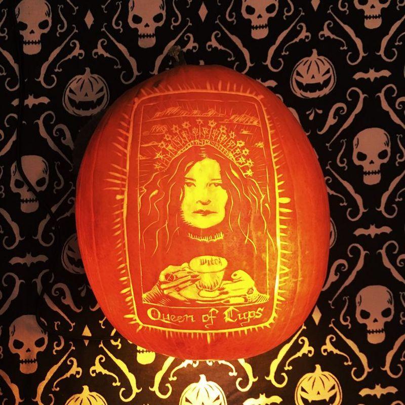 Pumpkin carving by Tim Lagasse