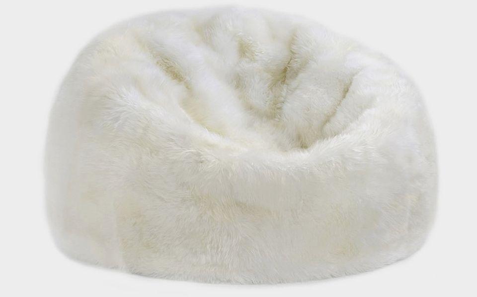 Sheepskin Bean Bag by Parker Wool