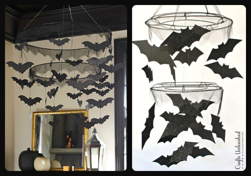 bats decor Halloween