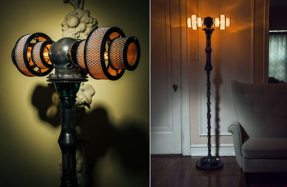 Atlas V16 Steampunk Lamp by Futility Studios