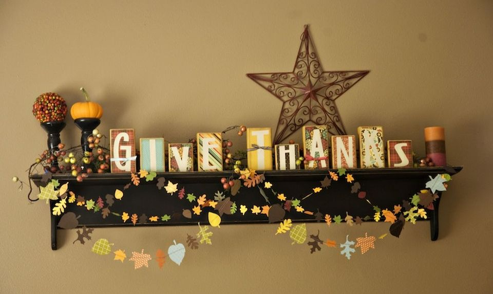Easy DIY thanksgiving decor ideas for your home