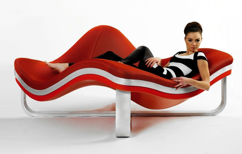 Flying Wave Armchair by A-Studio