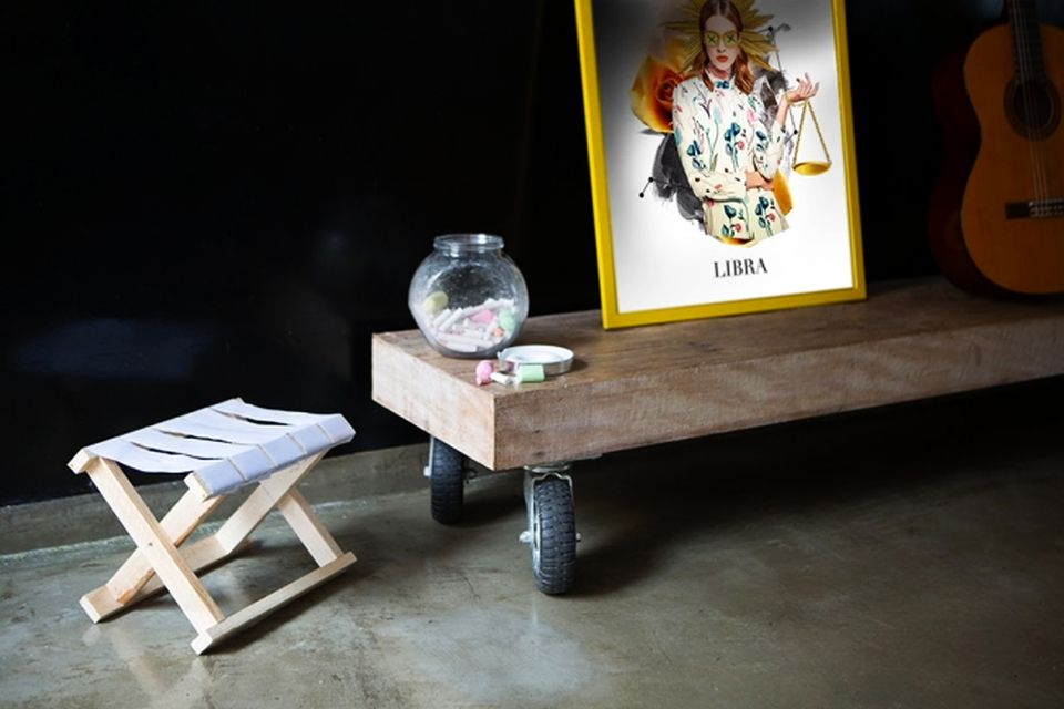JWT Furniture Made of Recycled Political Campaign Boards