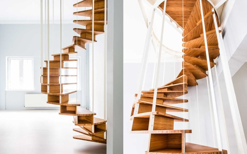Jo-a Olmo Spiral Staircase