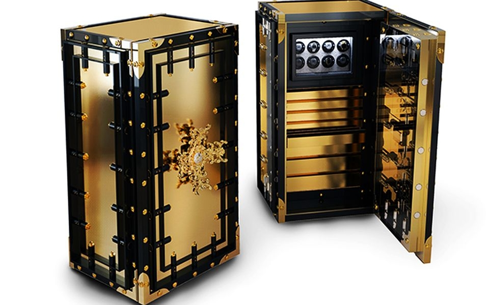 Luxury safes by Boca Do Lobo