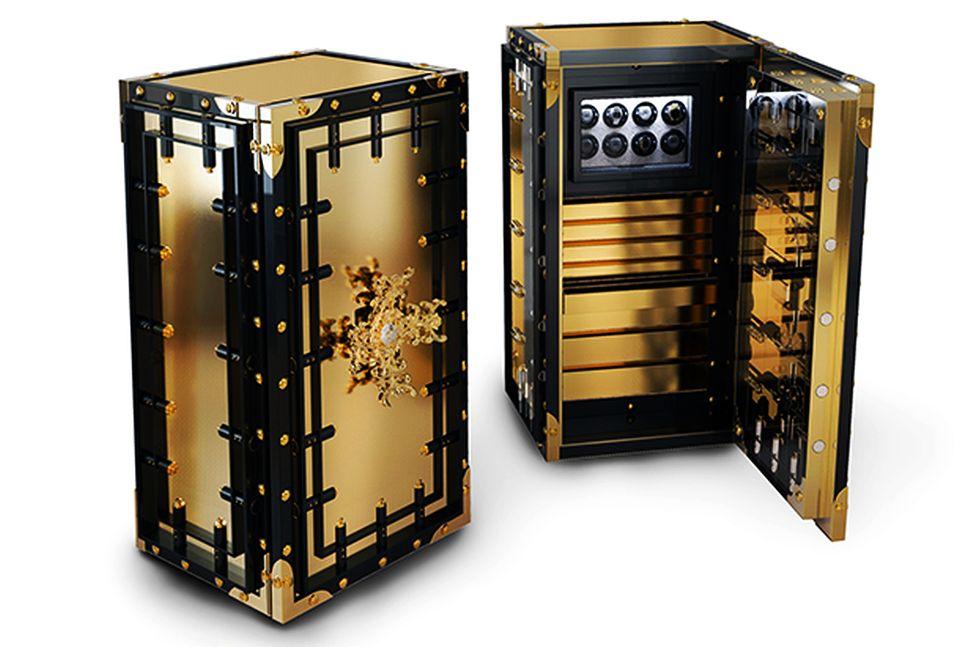 Luxury safes by Boca Do Lobo