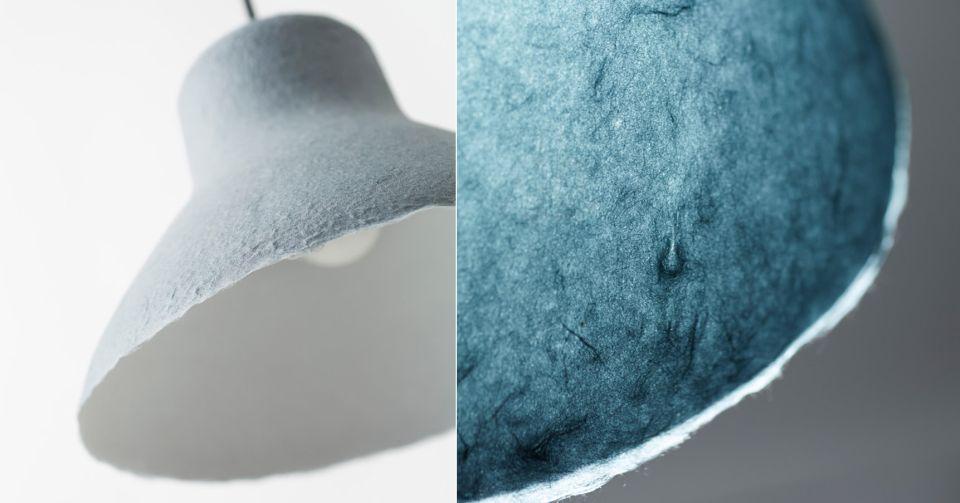 Nendo Washi Lamps