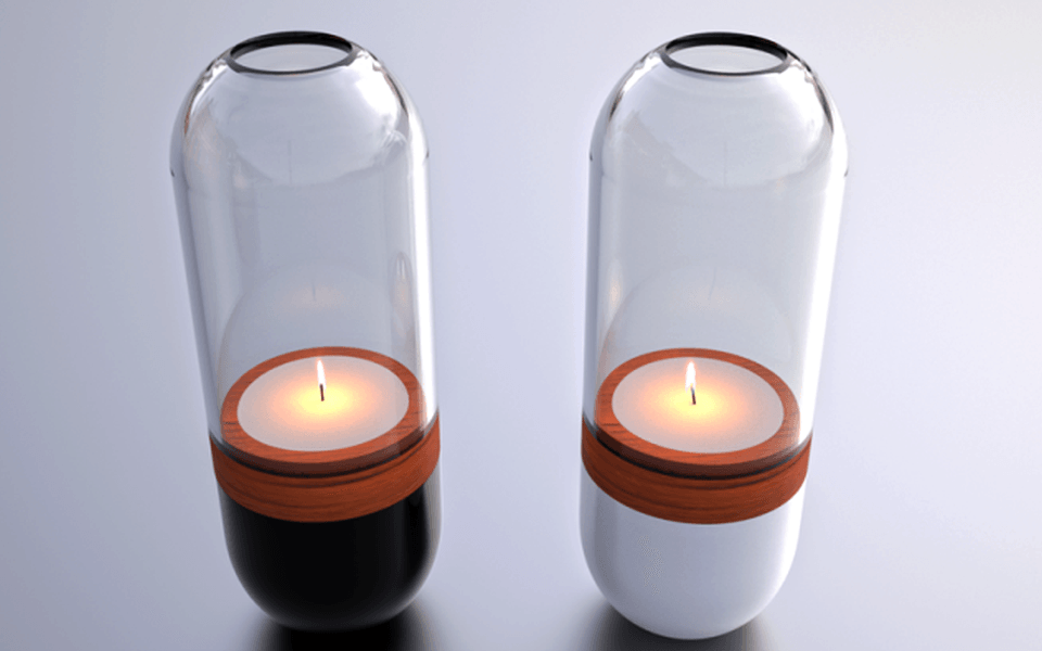 Ora Candle by Gauthier Poulain