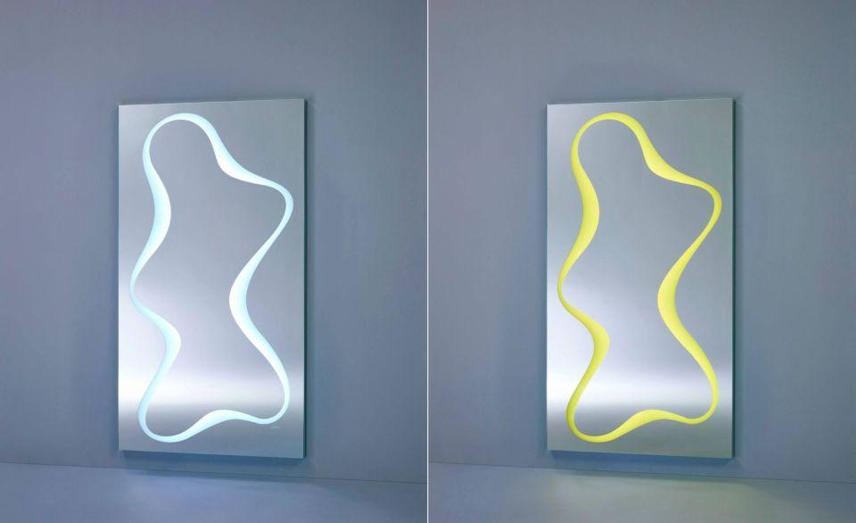 Spline Freestanding Mirror