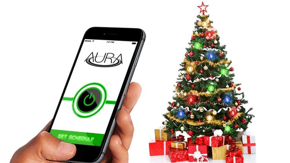 Aura Christmas Tree Lights