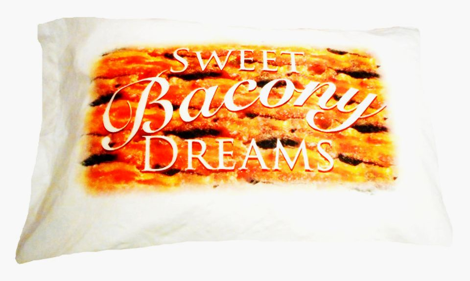Bacon-scented Pillowcase by J&D's Food