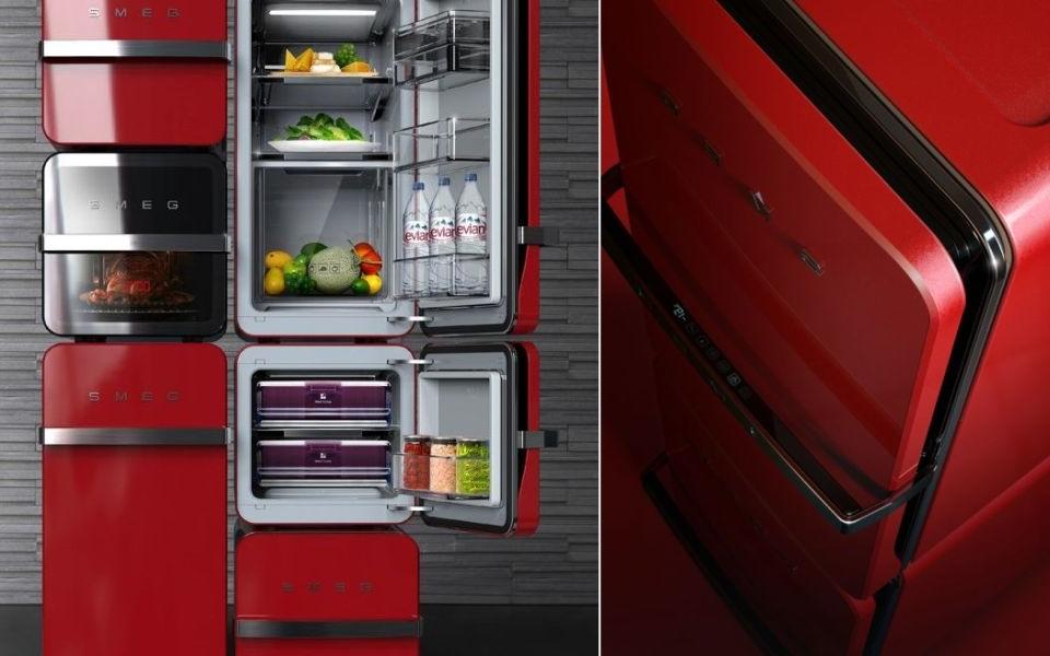 Brick Modular Refrigerator