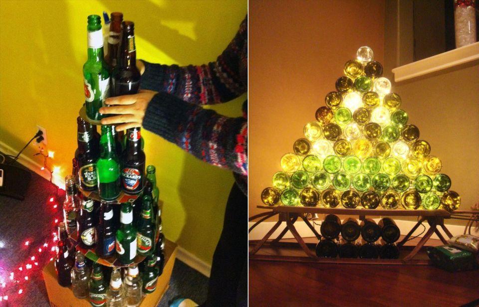 Alternative Christmas tree ideas