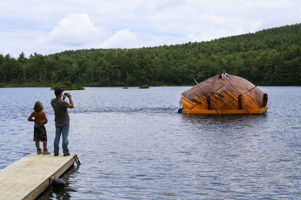 Creatura Human-powered Floating Berth