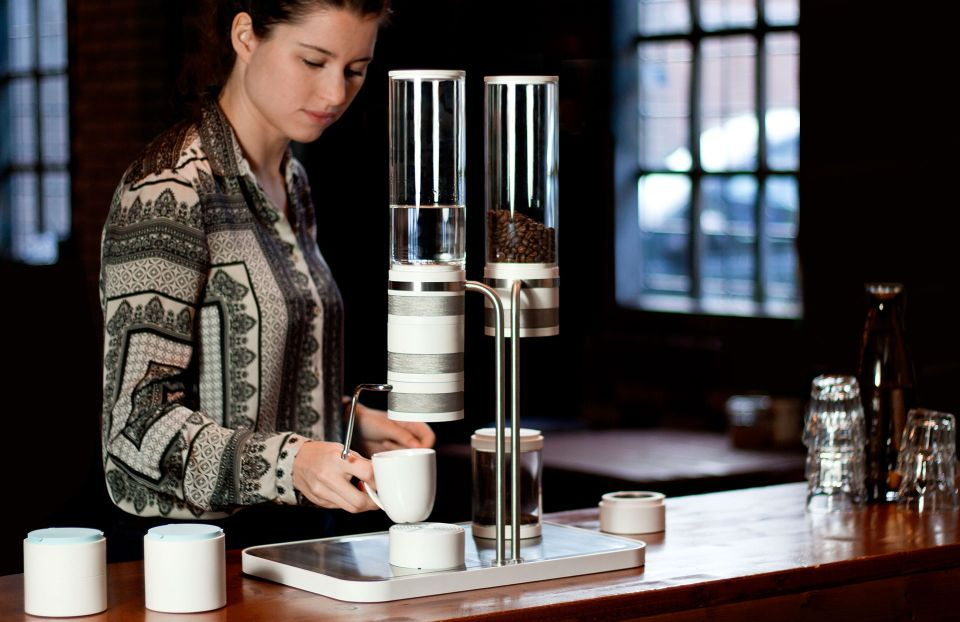 Home Barista Coffee Maker by Joris Petterson