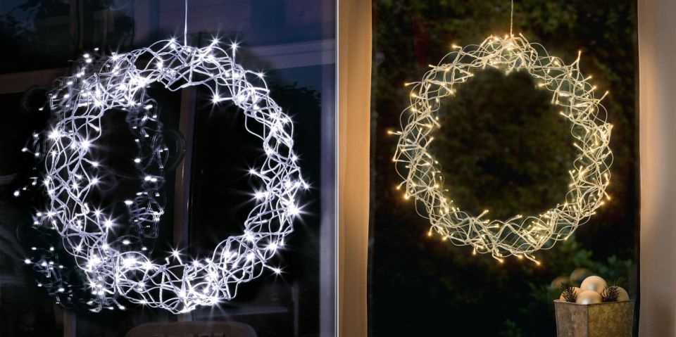 LED Decorative Wreath