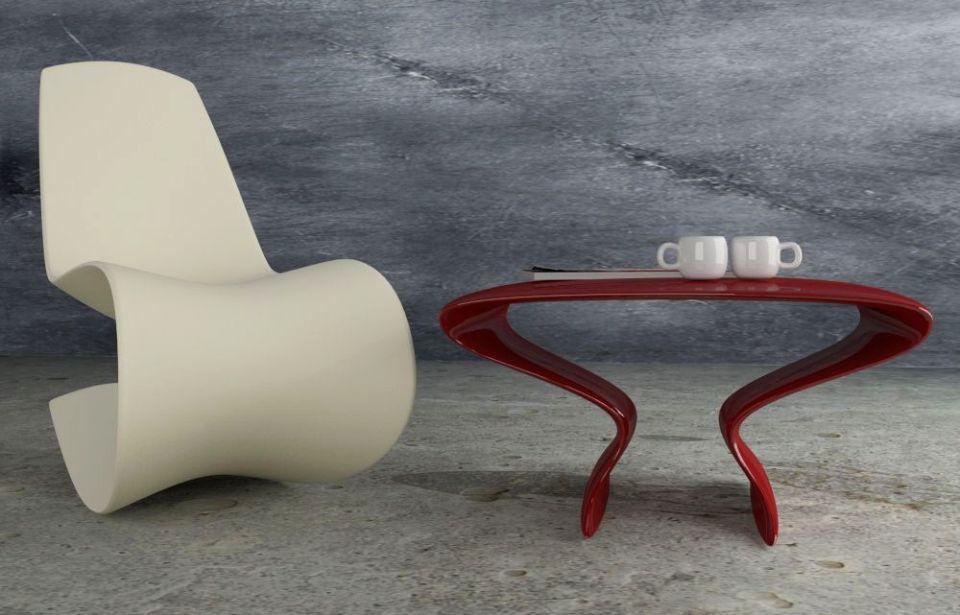 Origami Coffee Table by Salvatore Privitera