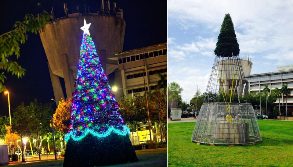 Palmerston Council's $45K Cyclone-proof Christmas Tree