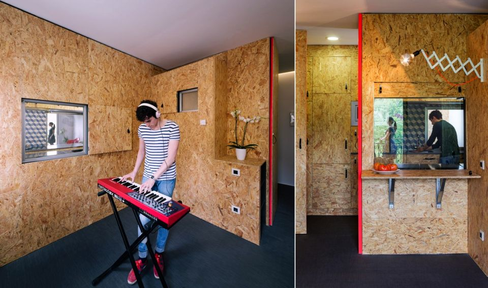 Pop-Up House by TallerDE2 Arquitectos