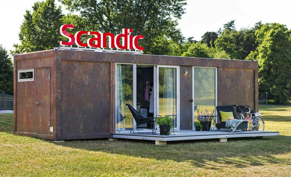 Scandic To Go Mobile Hotel Room