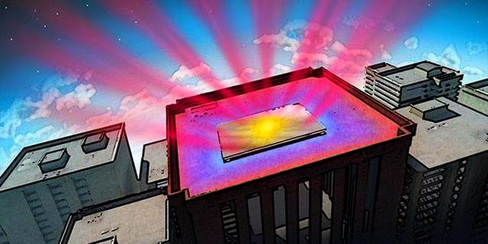 Stanford Engineers invent Hi-tech mirrors to radiate excessive heat from buildings into space