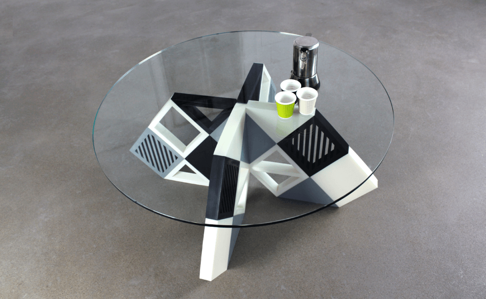 Zortrax Designed 3D Printed Karo Coffee Table
